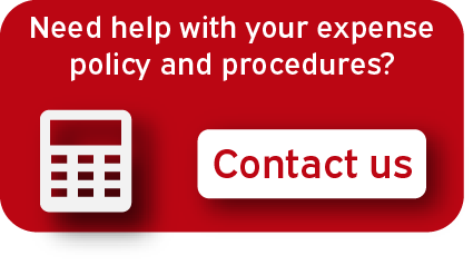 Expense policy and procedures contact us button