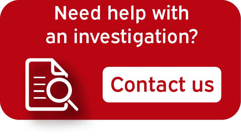 HMRC investigation contact us button